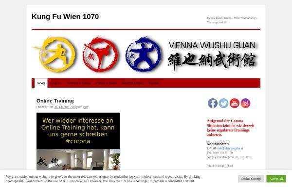 Vorschau von viennawushu.at, Vienna Wushu Guan