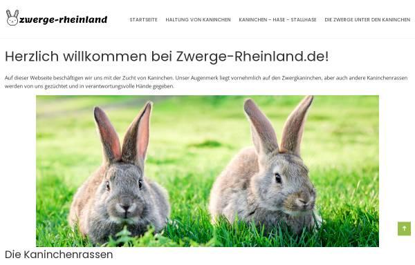 Vorschau von www.zwerge-rheinland.de, Hermelin- und Farbenzwergeclub Rheinland
