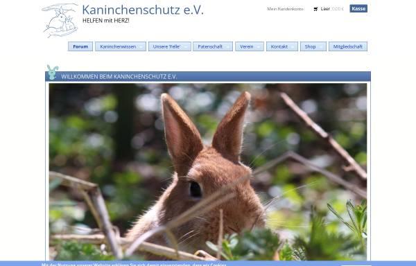 Vorschau von www.kaninchenschutz.de, Kaninchenschutz.de