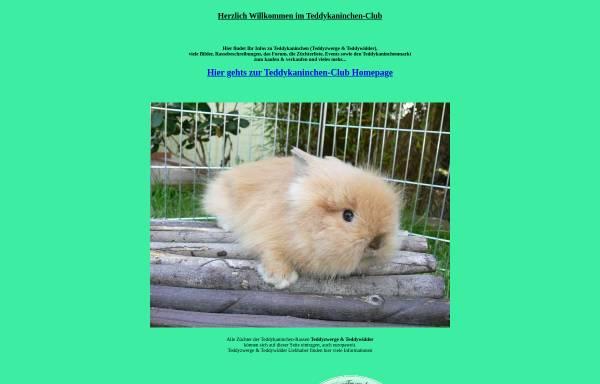 Vorschau von www.teddykaninchen-club.de, Teddykaninchen-Club