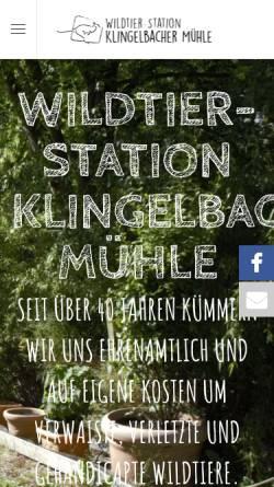 Vorschau der mobilen Webseite www.klingelbachermuehle.de, Klingelbacher Mühle