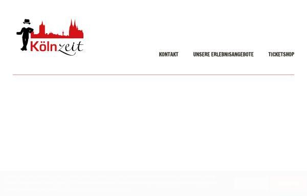 Vorschau von www.koelnzeit.de, Kölnzeit GbR, Oliver Fox und Thomas Helmer