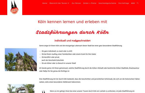 Vorschau von stadtfuehrungen-durch-koeln.de, Stadtführungen durch Köln