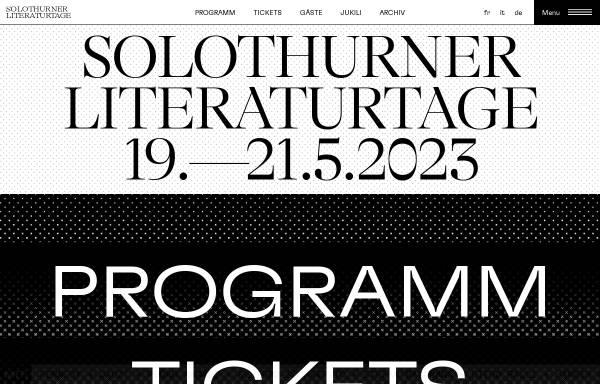 Vorschau von www.literatur.ch, literatur.ch