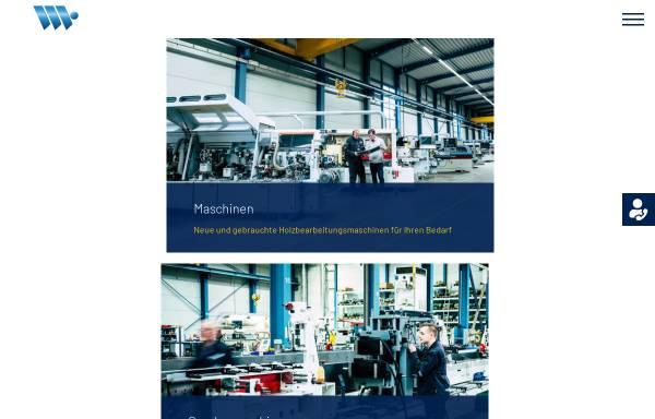 Vorschau von www.wehrmann-maschinen.de, Wehrmann Holzbearbeitungsmaschinen GmbH & Co. KG