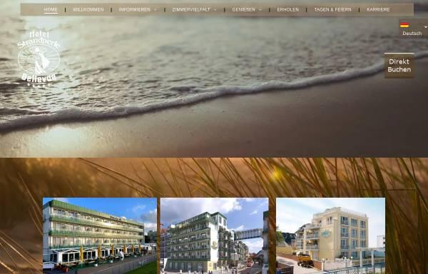 Vorschau von www.strandperle-hotels.de, Strandperle Hotels