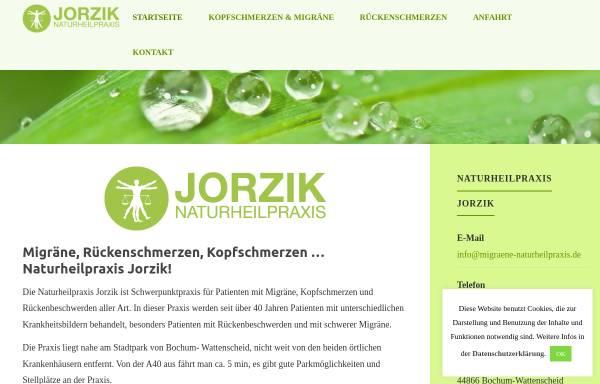 Vorschau von www.migraene-naturheilpraxis.de, Gabriele Jorzik, Heilpraktikerin