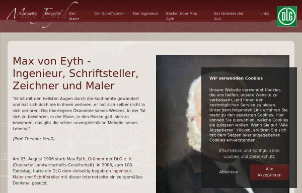 Vorschau von www.max-eyth.de, Max Eyth.de