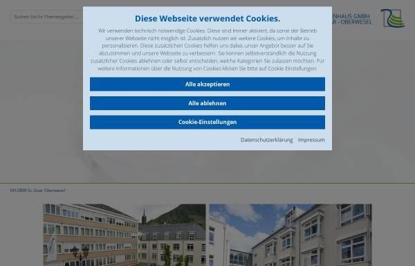Vorschau von www.loreley-kliniken.de, Lorelay-Kliniken St. Goar-Oberwesel