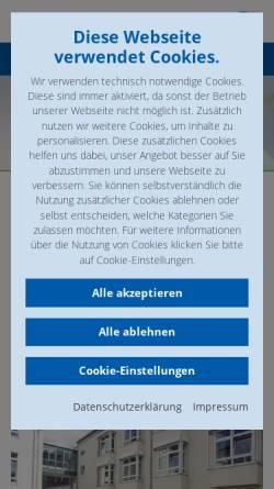Vorschau der mobilen Webseite www.loreley-kliniken.de, Lorelay-Kliniken St. Goar-Oberwesel