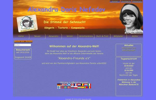 Vorschau von www.alexandra-welt.de, Alexandra