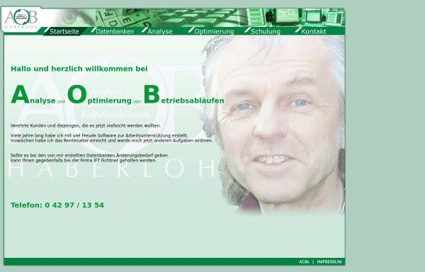 Vorschau von www.aobh.de, AOB Haberloh