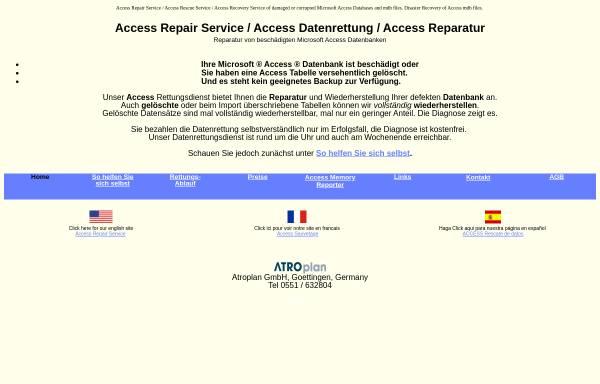 Vorschau von www.access-rettung.de, Atroplan GmbH