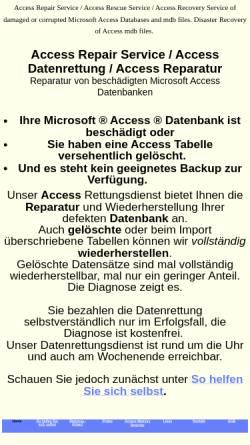 Vorschau der mobilen Webseite www.access-rettung.de, Atroplan GmbH