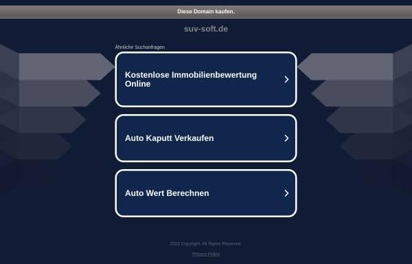 Vorschau von www.suv-soft.de, SuV-Soft