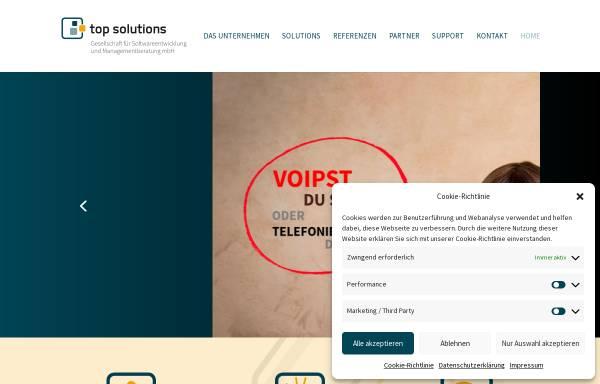Vorschau von www.topsolutions.de, top solutions