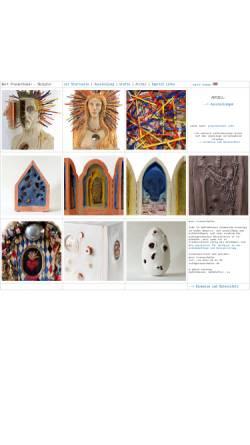 Vorschau der mobilen Webseite www.atelier.praxenthaler.de, Bert Praxenthaler, Bildhauer