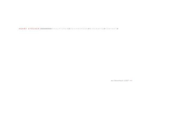 Vorschau von www.henrystoecker.de, Henry Stöcker, Skulpturen und Zeichnungen