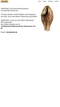 Vorschau der mobilen Webseite www.hudlet.de, Hudlet, Peter