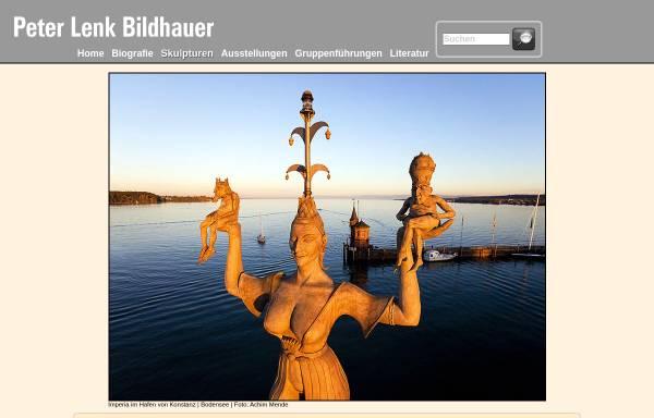 Vorschau von www.peter-lenk.de, Lenk, Peter