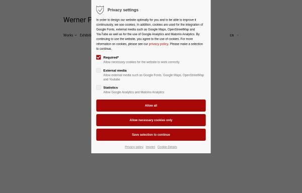 Vorschau von www.werner-pokorny.de, Pokorny, Werner