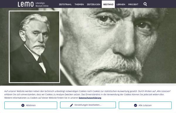 Vorschau von www.dhm.de, August Bebel, 1840-1913