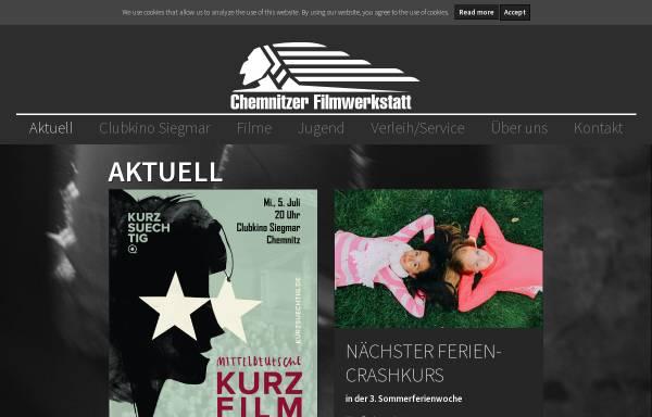 Vorschau von filmwerkstatt.de, Chemnitzer Filmwerkstatt