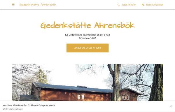 Vorschau von gedenkstatte-ahrensbok.business.site, Gedenkstätte Ahrensbök