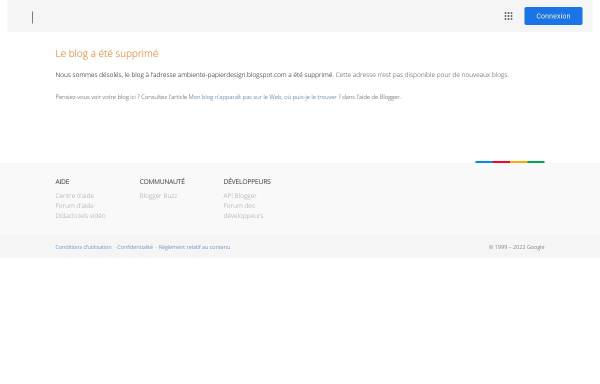 Vorschau von ambiente-papierdesign.blogspot.de, Ambiente und Import Handel GmbH