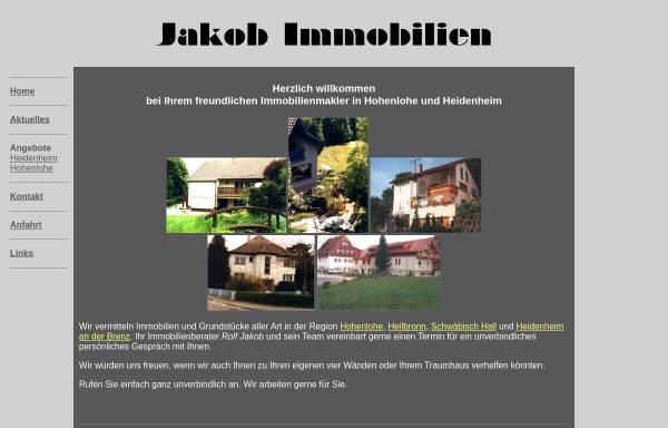 Vorschau von www.jakobimmobilien.de, Jakob Immobilien