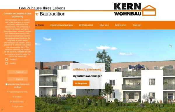 Vorschau von kern-wohnbau.de, Kern-Wohnbau GmbH