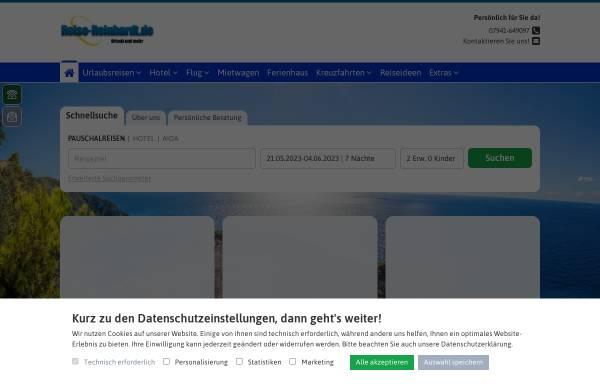 Vorschau von www.reise-reinhardt.de, Reiseagentur Reinhadt