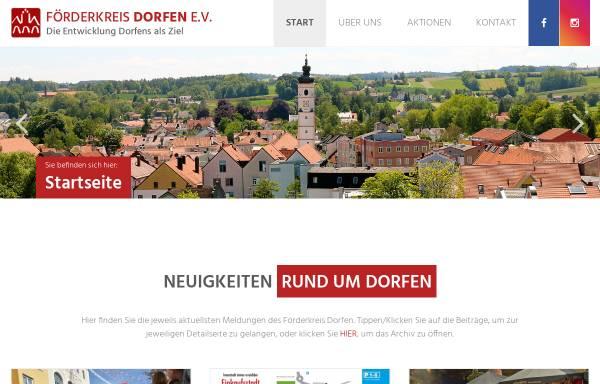 Vorschau von www.foerderkreis-dorfen.de, Förderkreis Dorfen e.V.
