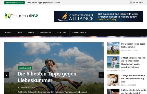 Vorschau von www.frauenrat-nw.de, FrauenRat NW e.V.