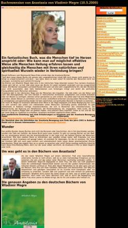 Vorschau der mobilen Webseite www.bunkahle.com, Megre, Wladimir