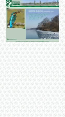 Vorschau der mobilen Webseite www.gnvu.ch, GNVU Gesellschaft für Natur- und Vogelschutz Uster