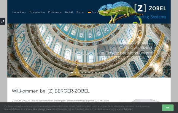 Vorschau von www.zobel-coatings.de, Berger-Zobel GmbH