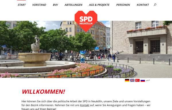 Vorschau von www.spd-neukoelln.de, SPD Neukölln