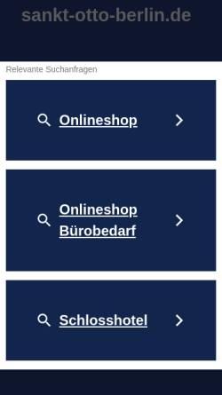 Vorschau der mobilen Webseite www.sankt-otto-berlin.de, Katholische Kirchengemeinde St. Otto
