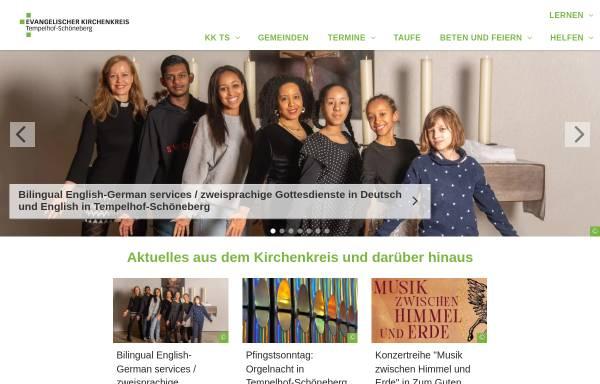 Vorschau von www.ts-evangelisch.de, Evangelischer Kirchenkreis Berlin-Schöneberg