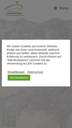 Vorschau der mobilen Webseite www.baptisten-tempelhof.de, Evangelisch-Freikirchliche Gemeinde Berlin-Tempelhof - Baptisten