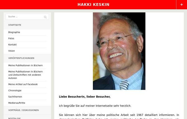 Vorschau von www.keskin.de, Keskin, Hakkı