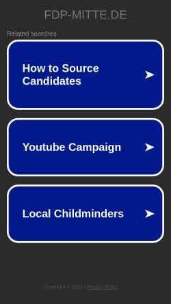 Vorschau der mobilen Webseite fdp-mitte.de, FDP Berlin-Mitte