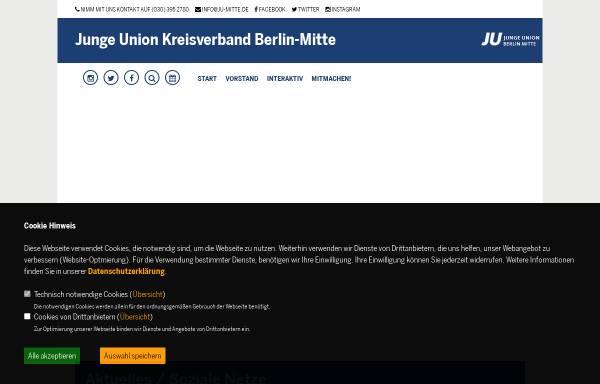 Vorschau von ju-mitte.de, Junge Union Berlin-Mitte