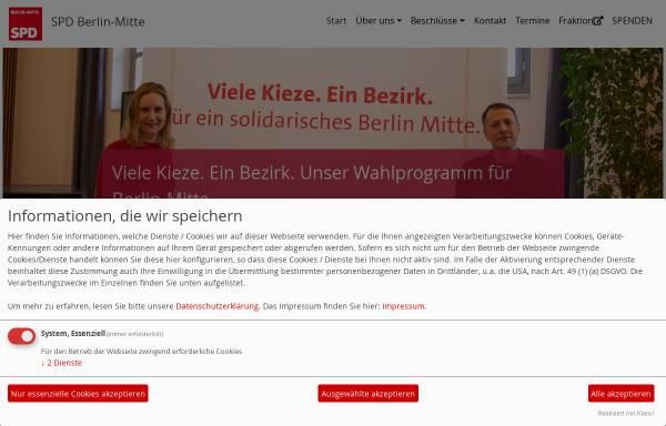 Vorschau von spd-berlin-mitte.de, SPD Berlin-Mitte