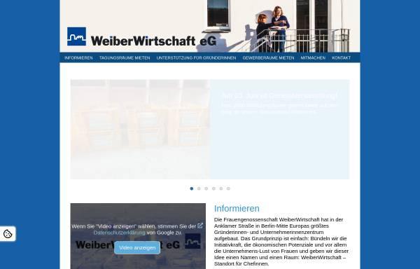 Vorschau von www.weiberwirtschaft.de, Die WeiberWirtschaft.