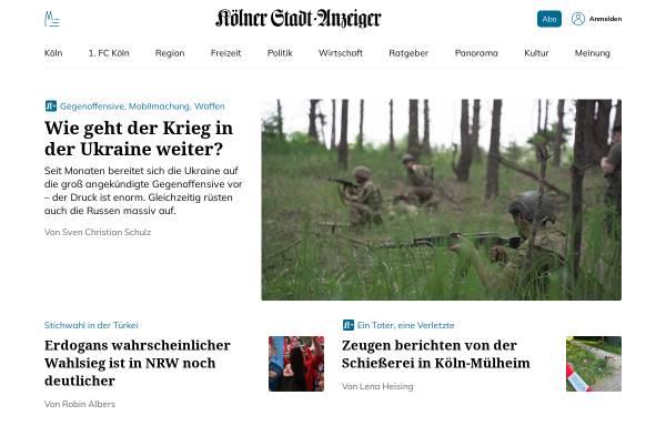 Vorschau von www.ksta.de, Kölner Stadtanzeiger (KSTA)