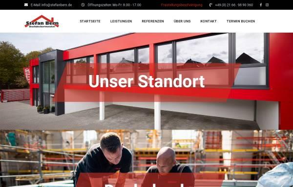 Vorschau von www.stefanbern.de, Dachdecker Stefan Bern