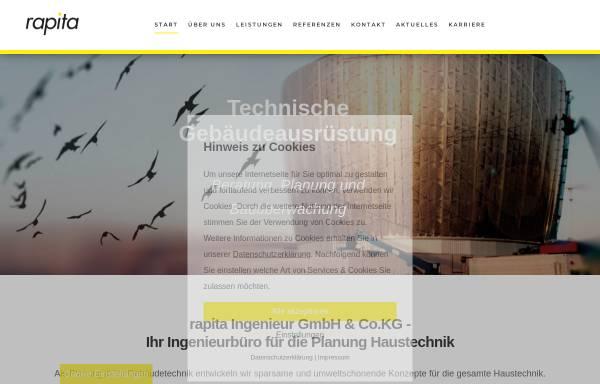 Vorschau von www.rapita.de, Ingenieurbüro Rapita
