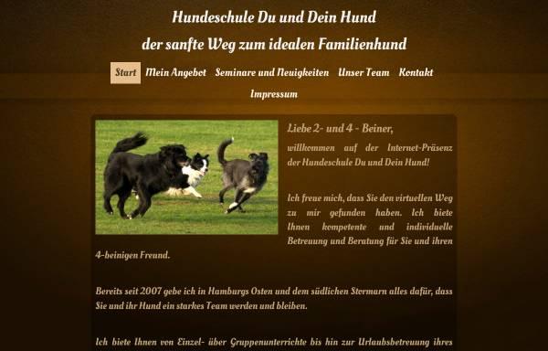 Vorschau von www.du-und-dein-hund.de, Hundeschule Du und Dein Hund